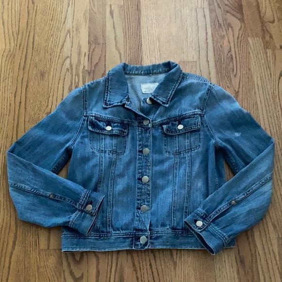 J Crew stone wash denim jacket